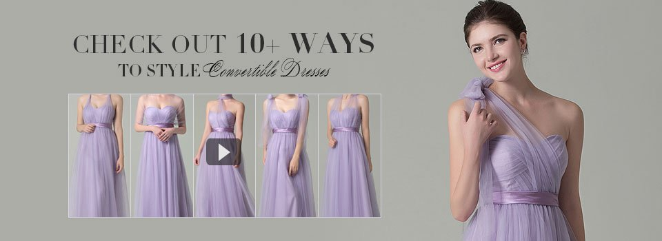9230cf1576d Cocomelody Convertible Infinity Bridesmaid Dresses